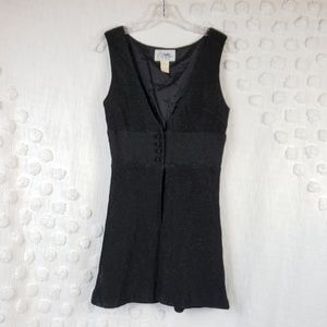 Vintage St. Rogue Black Vest see Measurements